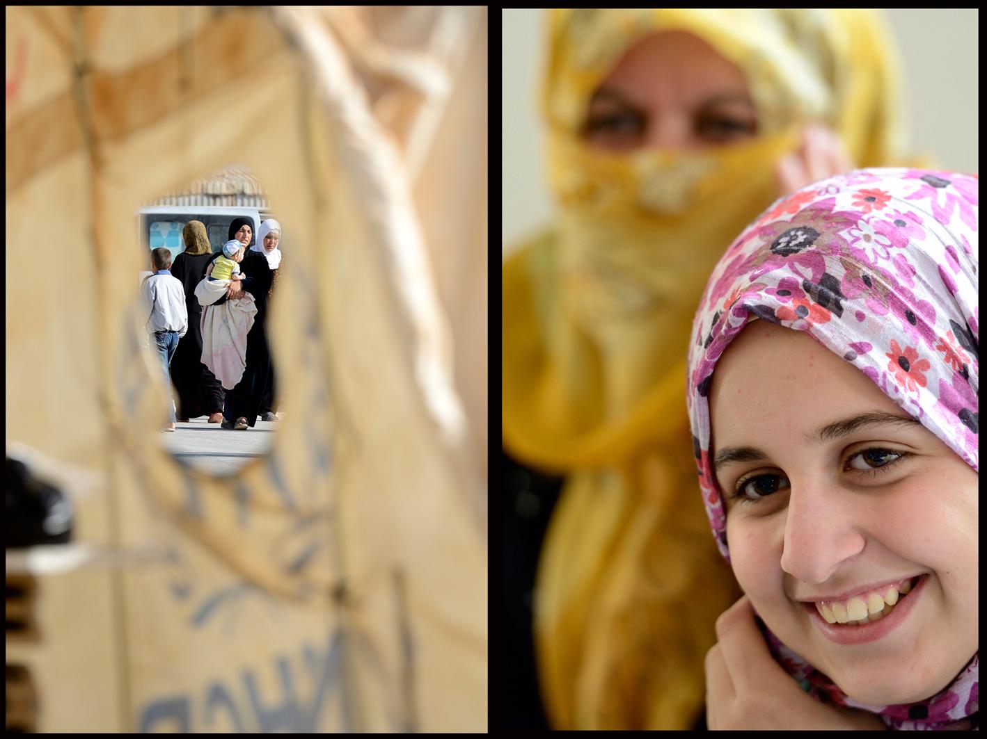 Flyktingläger Zaatari
